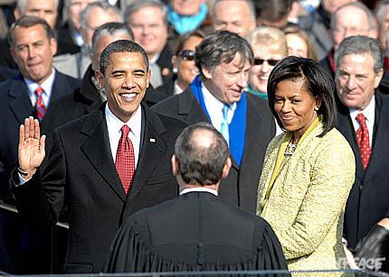 Obama Inauguration.